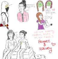 doodles of my weekend by Holleester