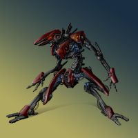 Rogue-droid from The Syndicate by Gin-sensei