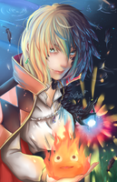 Howl Pendragon by SauceBox16