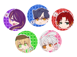 DH:: Badges [Batch 1] by Jynx-dono