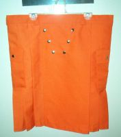Bright Orange Kilt by FenigDurak