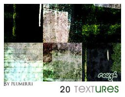 20 Textures - Rough by plumerri