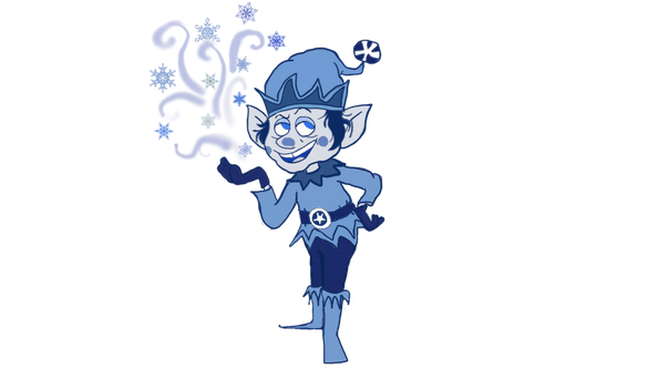 Jack Frost from Frostys winter wonderland by Comicgirl20