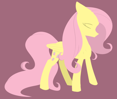 Fluttershy - lineness by PrincessNoob