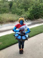 TPA orianna cosplay test fit by YachiruFoxTailFairy