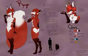 Rouge Official Character Sheet by RougeTheVixen
