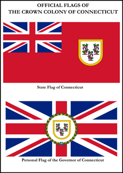 Connecticut Flags by ImperatordeElysium