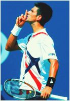 Novak Djokovic_USO4 by leftysrock