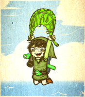 Homestuck: Wind Waker John by Le-Juge