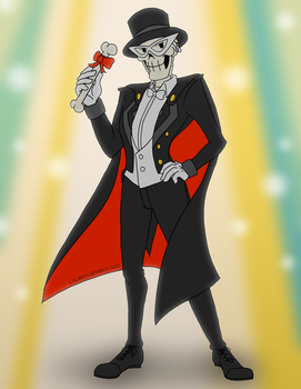 Tuxedo Pap by LaurenSparks