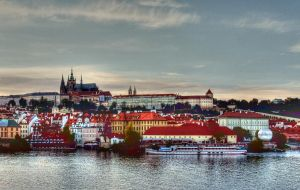 The Castle View From Charles Bridge01 by abelamario