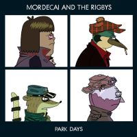 Mordecai and the Rigbys-Park Days by DisneyToonDino