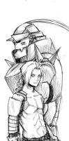 The Elric Brothers by TheBoyofCheese