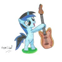 Filly Pepper's First Guitar by UlyssesGrant