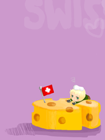 Swiss and Cheese by Spazzly