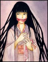 Kuchisake-onna by Shinanai