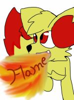 Flame the Fennekin by ShinySmeargle