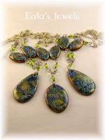 Precious nature pendants by Shatiel85