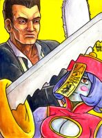 Sketchcard PXZ Frank and HsienKo by fedde