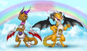 Care Dragons by ThisCrispyKat