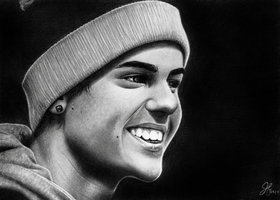 Justin Bieber commission by jordanxmichelle