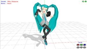 mmd hatsune miku freak by olive-happy