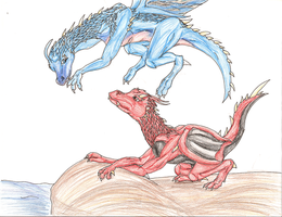 Saphira's Playmate by Daisie2819