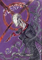 Slenderman by MaryDec by MaryDec