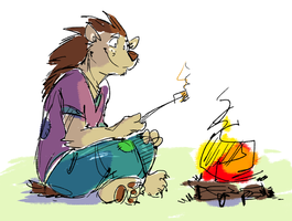 Campfire quills by super-tuler