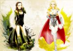 Lady Thorki -Asgard Angels by AviHistten