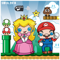 .:Super Mario Kawaii and Co:. by SaMtRoNiKa