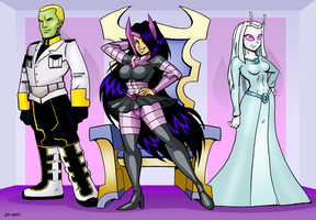 Blackfire And Friends by curtsibling