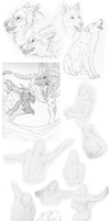 Sketchdump 2015 - 01 by Therbis