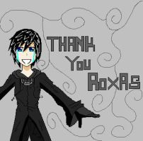thank you Roxas by MaybeCloser