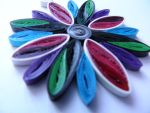 Quilling pendant by mayabijoux