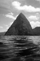 Gros Piton, St. Lucia by NettieR