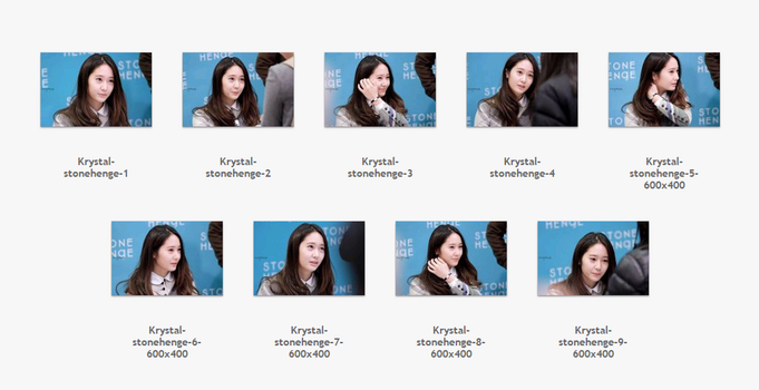 #3 : Pack stock Krystal by JuneNaoo