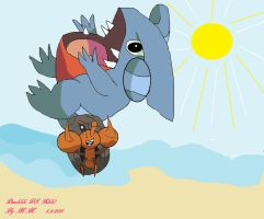 Dwebble VS Gible by mamc1986