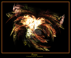 Fractal: Pain by simonsaz3