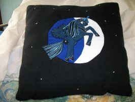 Goth Luna Custom Pillow by grandmoonma