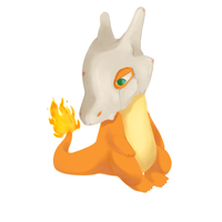 Char- Cubone by narukitty11