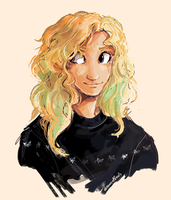 Annabeth in a christmas Jumper by Dreamsoffools