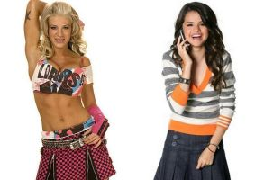 ashley massaro y selena gomez by reinagitana