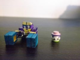 LEGO Pokemon: Crabrawler and Morelull