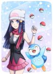 dawn + piplup :D by majigoma