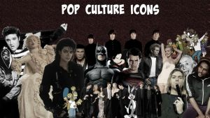 Greatest Pop Culture Icons Wallapeper by ConfessionOnMDNA