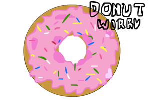 Donut Woory by RandomZet