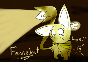 Fennekat :: Light! by Pizaru-Chu