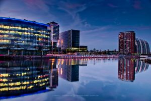 Salford Quays 4 by NeilBattyPhotography