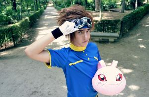 Digimon Cosplay - Tai Yagami. by emitatufan